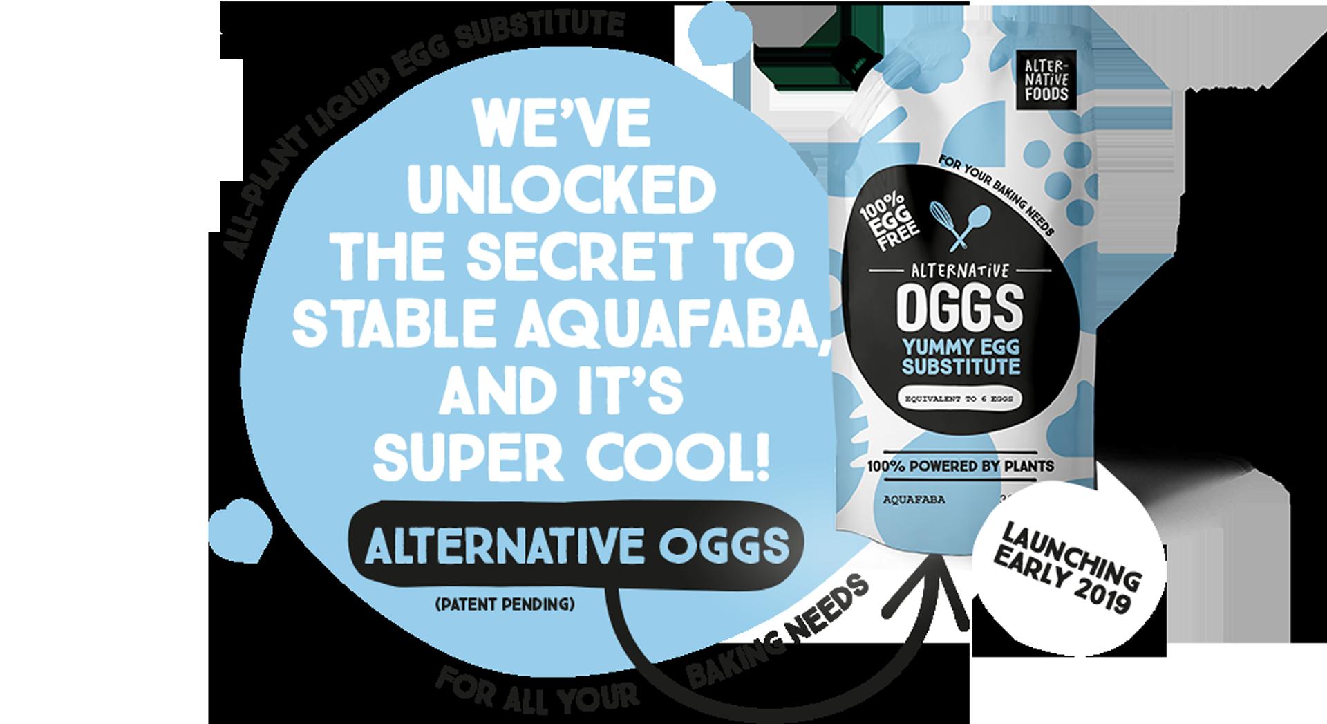 oggs - aquafaba